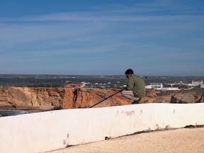 Fishing at Sagres Fort
