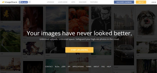 Abrir mi cuenta ImageShack