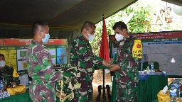 Tim Masev Mayjen TNI Eka Wiharsa Mengucapkan Terima Kasih pada Satgas TMMD Kodim Tapsel