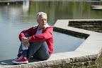 Németh Gábor József Attila-díjas író, forgatókönyvíró a 23. Budapesti Nemzetközi Könyvfesztiválo a Millenárisban (MTI Fotó: Koszticsák Szilárd)
