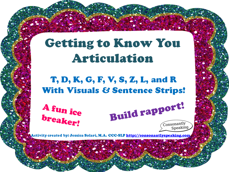 Getting To Know You Articulation Preview Image