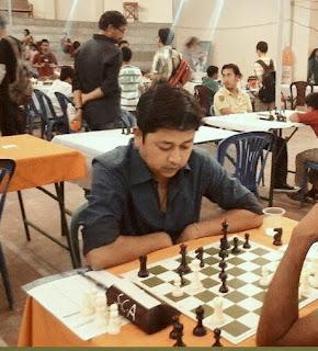 Bidyut Bikash Handique online chess