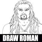 draw roman reigns icon