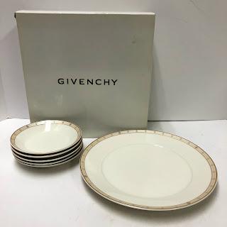 Givenchy Yamaka China Set of Saucers