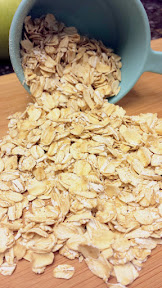 Oats to be toasted for a Apple Cranachan Recipe