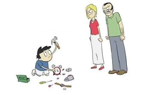 De ce copiii preferă jocurile pe calculator ?! (ilustrații)