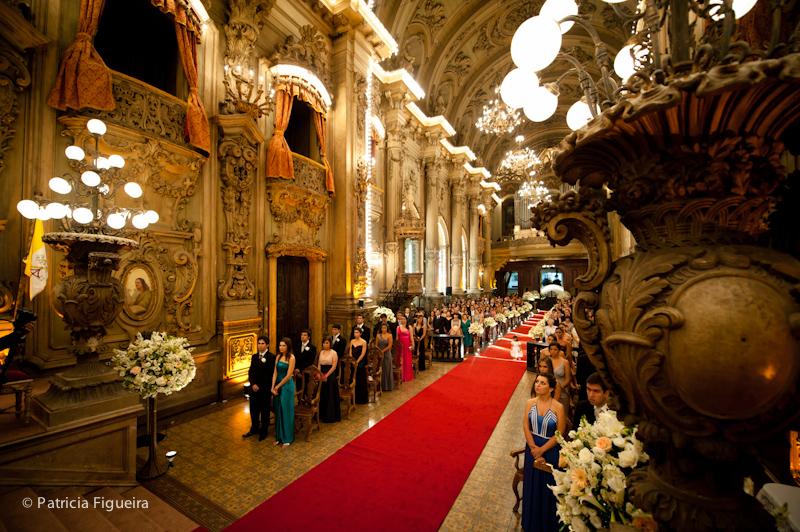 Foto de casamento 0880 de Ana e Joao. Marcações: 29/10/2011, Casamento Ana e Joao, Igreja, Igreja Sao Francisco de Paula, Rio de Janeiro.
