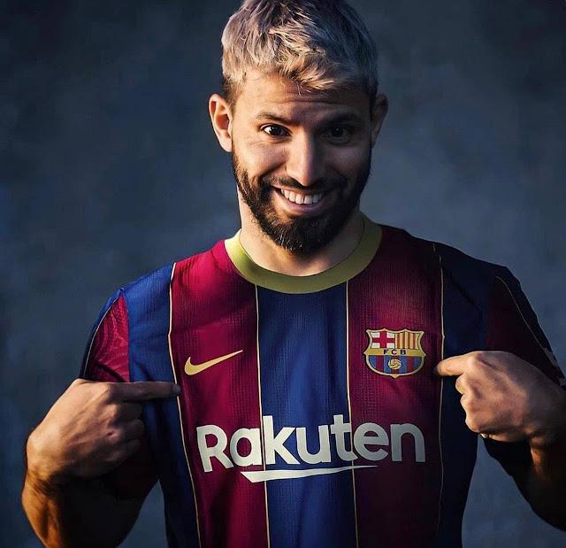 Sergio Aguero move to Barcelona photo