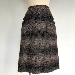 Chanel Metallic Skirt
