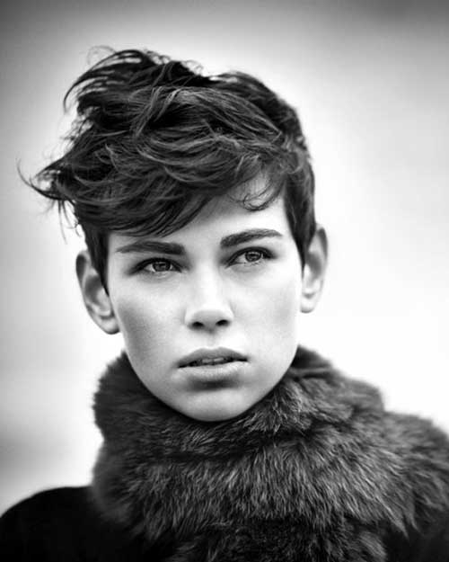 Cute Everyday Short Hairstyles: Short Simple Casual Short Cute Hairstyle