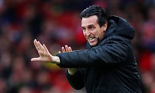 Unai Emery will fight to save his job