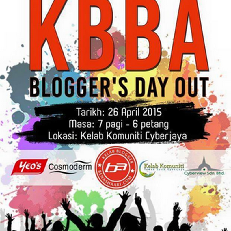 Aktiviti : KBBA BLOGGER'S DAY OUT 2015