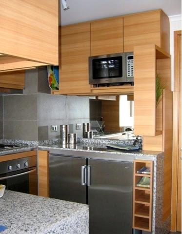 Arquitetando ideias cozinhas muito pequenas algumas ideias for Modelos de cocinas americanas en espacios pequenos