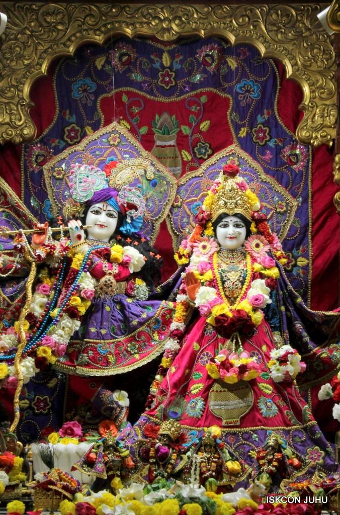 ISKCON Juhu Sringar Deity Darshan 20 Jan 2017 (3)
