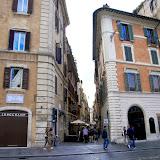 15. Streets near Piazza di Spagna. Rome. 2013