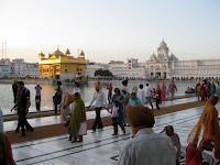 Sunset at Golden Temple - Amritsar, Punjab