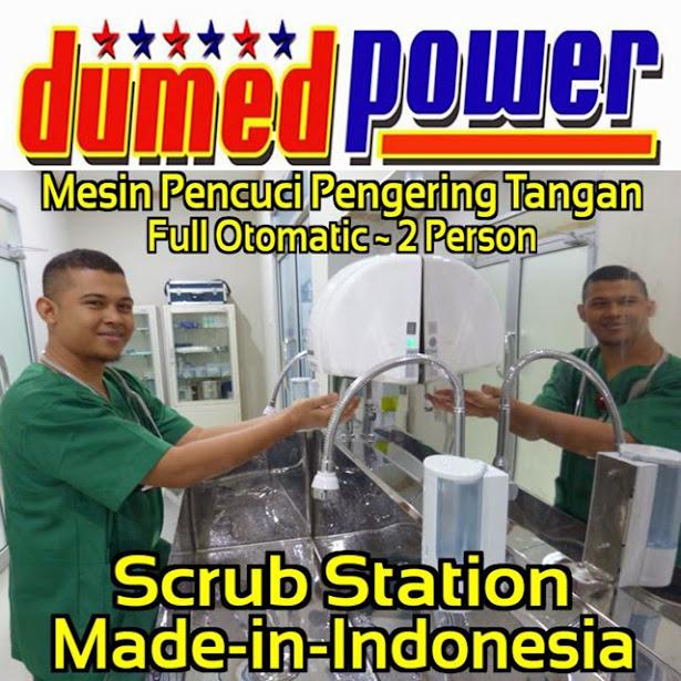 Scrub-Station-1-2-3-Person-Mesin-Pencuci-dan-Pengering-Tangan