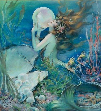 Mertmaid Stone, Mermaids