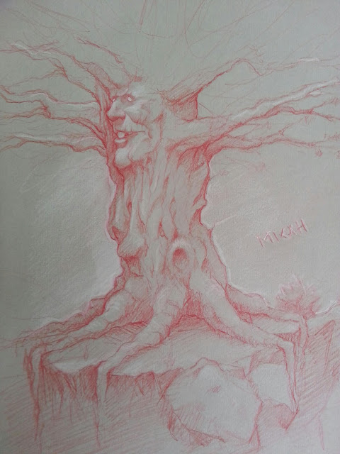 The knotted tree