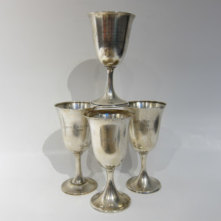 Sterling Silver Trophy Chalice Lot