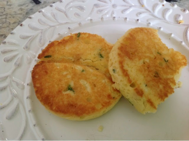 Paleo English Muffin with herbs