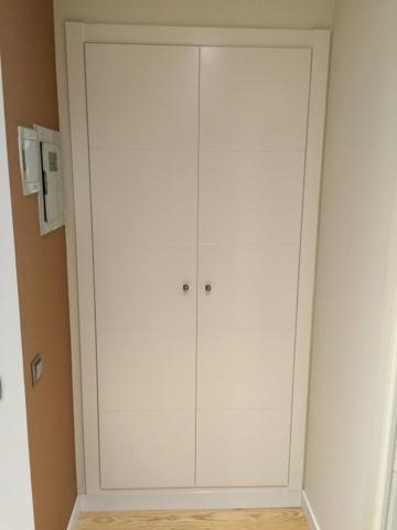 frentes de armarios lacados