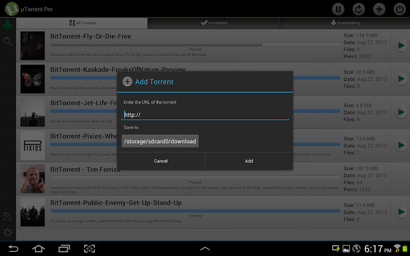 μTorrent Pro - Torrent App for Android