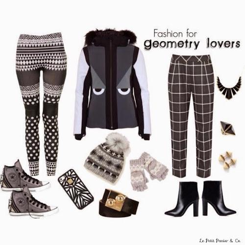 Tendencia geométrica en moda