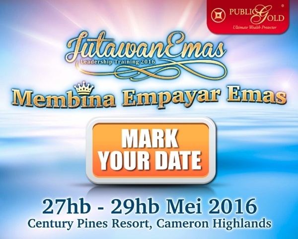 Jutawan Emas Leadership Training di Century Pines Resort, Cameron Highlands