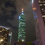 Taipei 101 in Taipei, T'ai-pei county, Taiwan