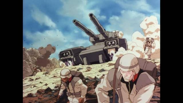 第08MS小隊 戦闘シーン
