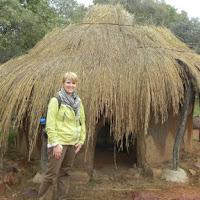 Traditional Botswana house, 500 years ago
