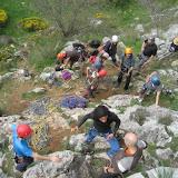 Fotos da saída de escalada do Club Alpino Ourensán a Rabanal de Luna, Pincuejo e Peñas del Prado (León), 12 e 13 de maio de 2012.