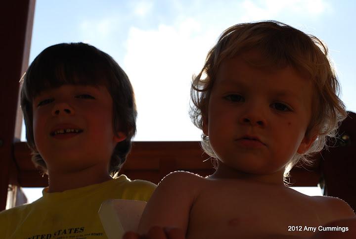 Ian and Elijah