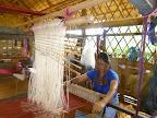The weaving center is full swing