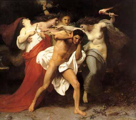Minor Greek Goddess Erinyes And Furies, Gods And Goddesses 1