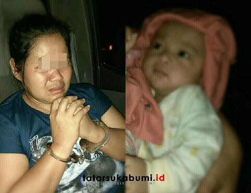 Penculik Bayi  4 Bulan Yang Viral Di Medsos Akhirnya Ditangkap