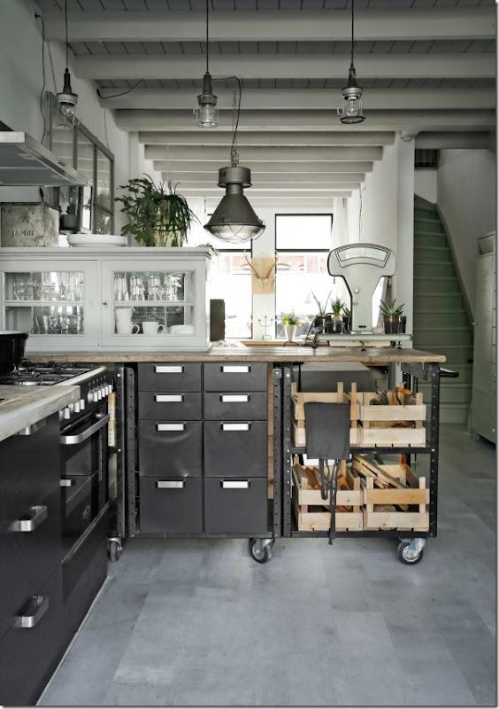 Conosciuto 10 Cucine in stile Industriale EA71