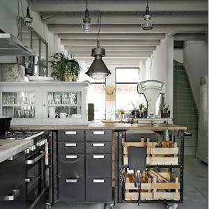 Cucine stile industrial chic pz11 regardsdefemmes - Cucine stile industriale vintage ...