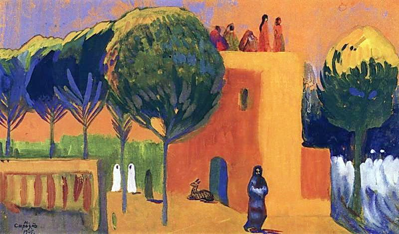 Martiros Saryan - Enchantment of the Sun, 1905