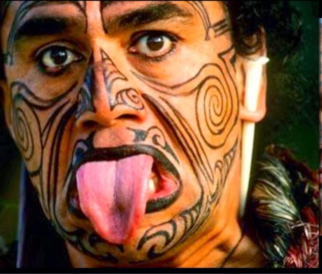 Female Maori Mouth Tattoos: Female Nomad: ROTORUA