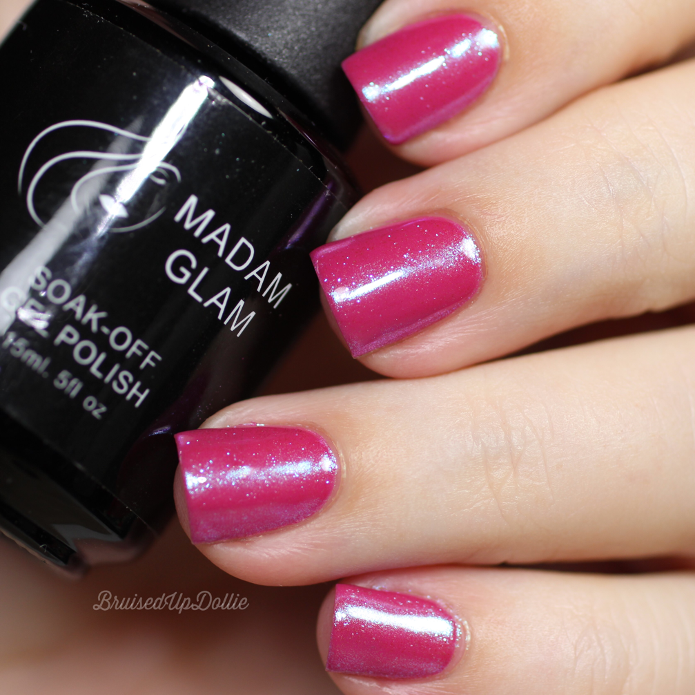 Madam Glam Nail art pigment/chrome powder pt. 1 - BruisedUpDollie Nails