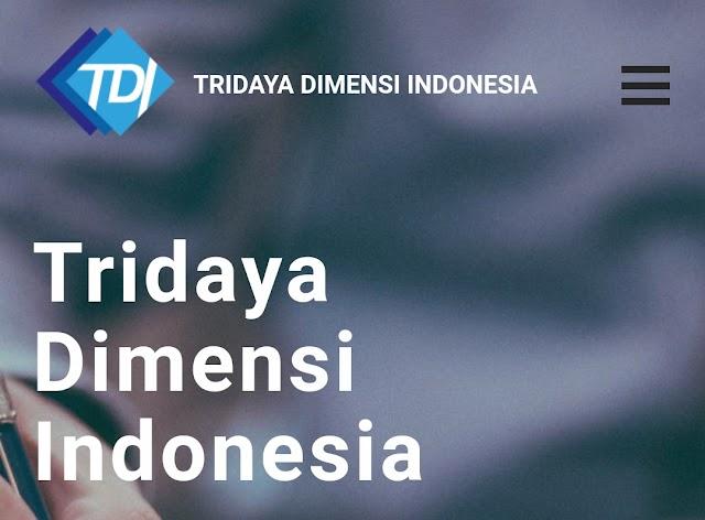 Lowongan Kerja PT. Tridaya Dimensi Indonesia resmi