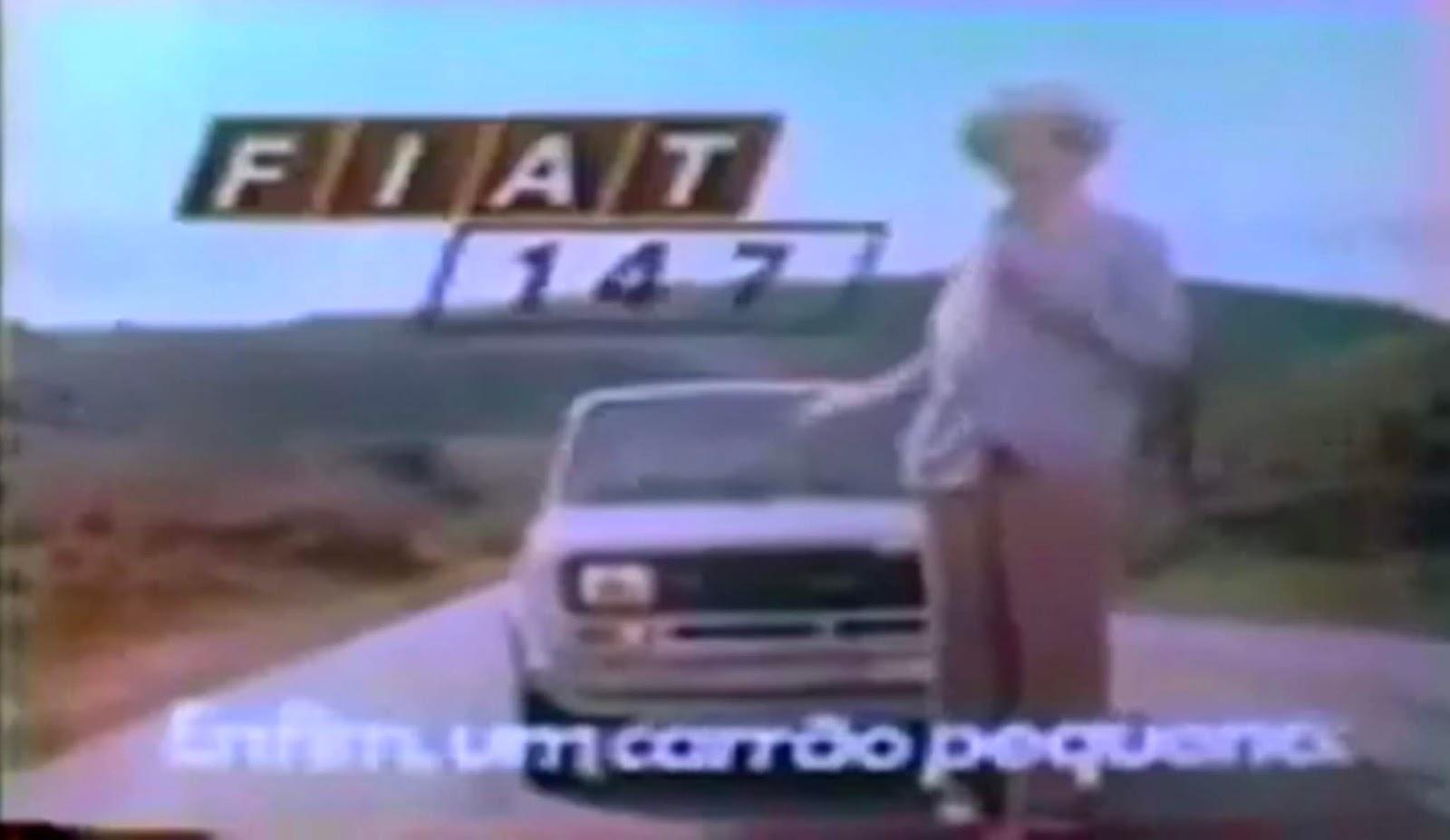 Campanha de lançamento do Fiat 147 pela Fiat no ano de 1976