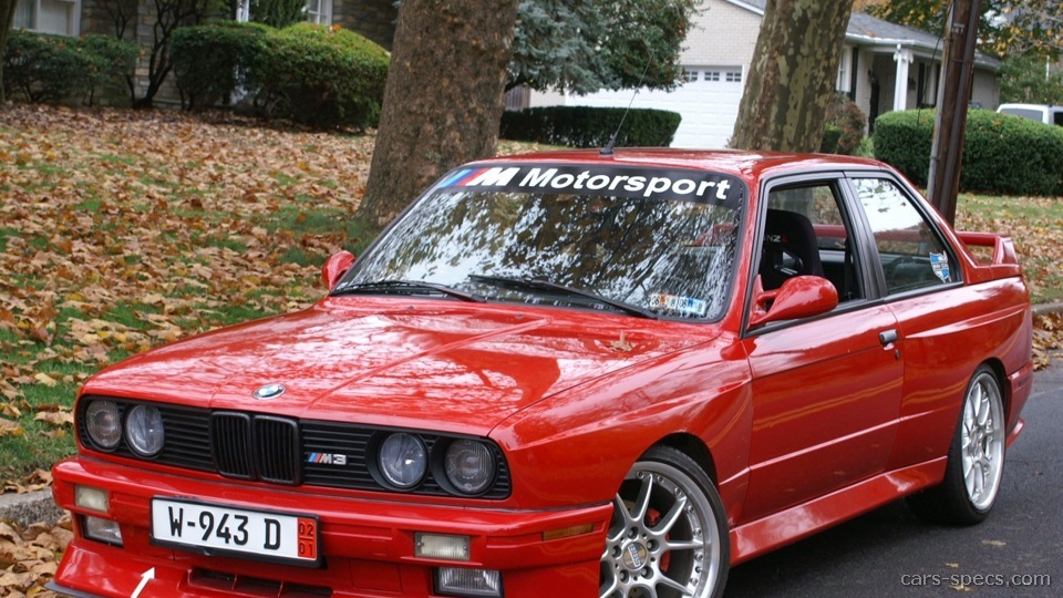 1990 Bmw M3 Coupe Specifications Pictures Prices