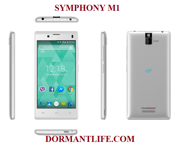 Symphony M1: Lollipop Phone Specifications & Price