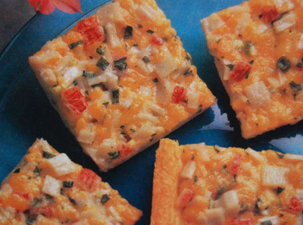 Cheesy Crab Squares Recipe