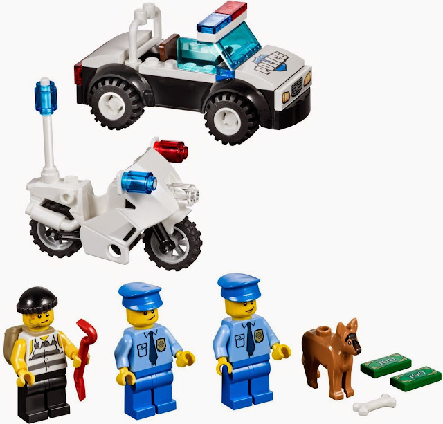 Các chi tiết trong  bộ xếp hình Lego 10675 Cuộc tẩu thoát rất tinh xảo và đẹp mắt