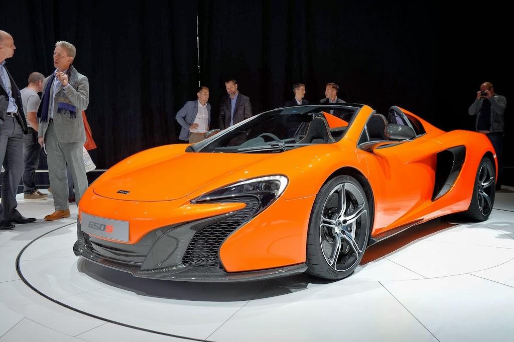 McLaren 650S Spider Geneva Motor Show 34