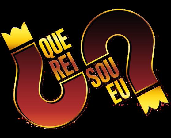 Logo novelaQue Rei Sou Eu png